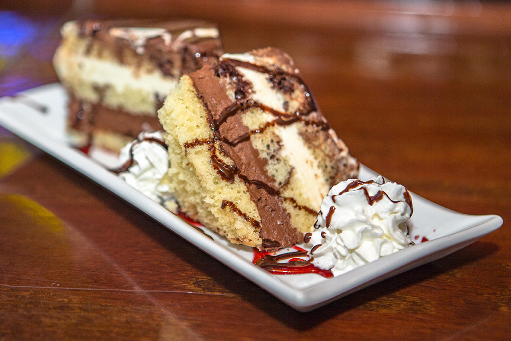 Delicious desserts served daily at The Pointe at Lake Gaston